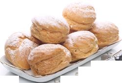 نان خامه ای