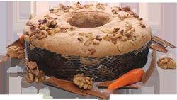 کیک هویج گردو
